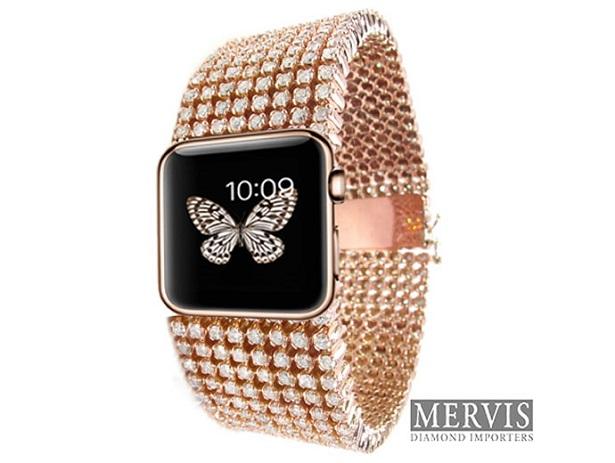 Apple Diamond Watch