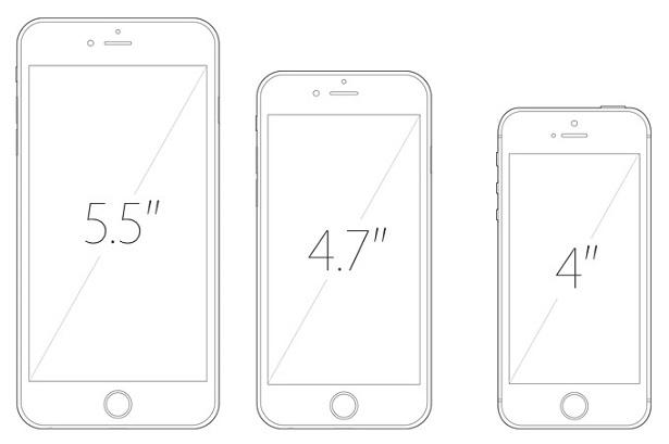 apple iphone 4 inch