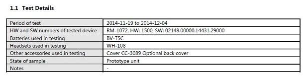 Microsoft Lumia 640 RM-1072