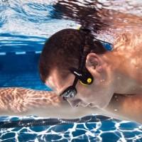 Waterproof swimming headphones earphones